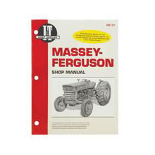 Workshop manuals for vintage tractors including Fordson, IH, Ford...