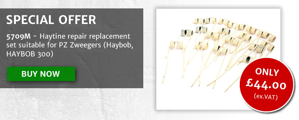 5709M - Haytine repair replacement set suitable for Suitable for PZ Zweegers (Haybob, HAYBOB 300) - now only £44.00+vat