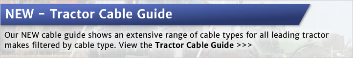 NEW Tractor Cable Guide