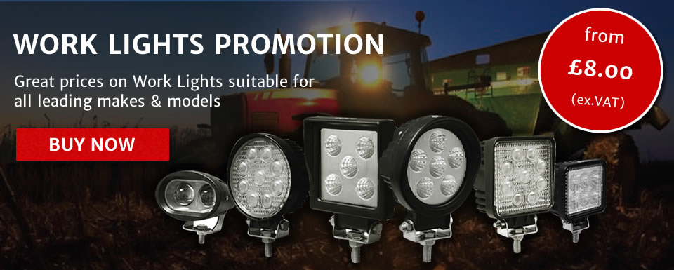 Work Lights Promotion now on