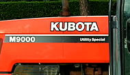 Kubota parts for M900 tractor