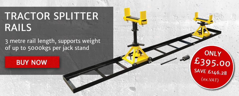 SPECIAL OFFER - Tractor Splitter rails now ONLY £395+VAT