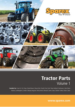 Sparex Tractor Parts Volume 1 Catalogue