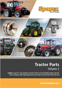 Sparex Tractor Parts Volume 2 Catalogue