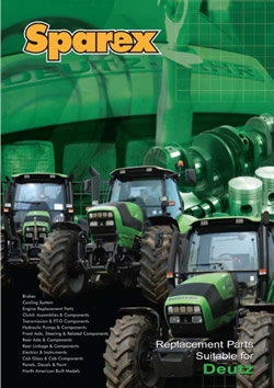 Deutz-fahr Tractors Parts Catalogue