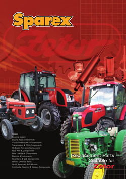Zetor Tractors Parts Catalogue
