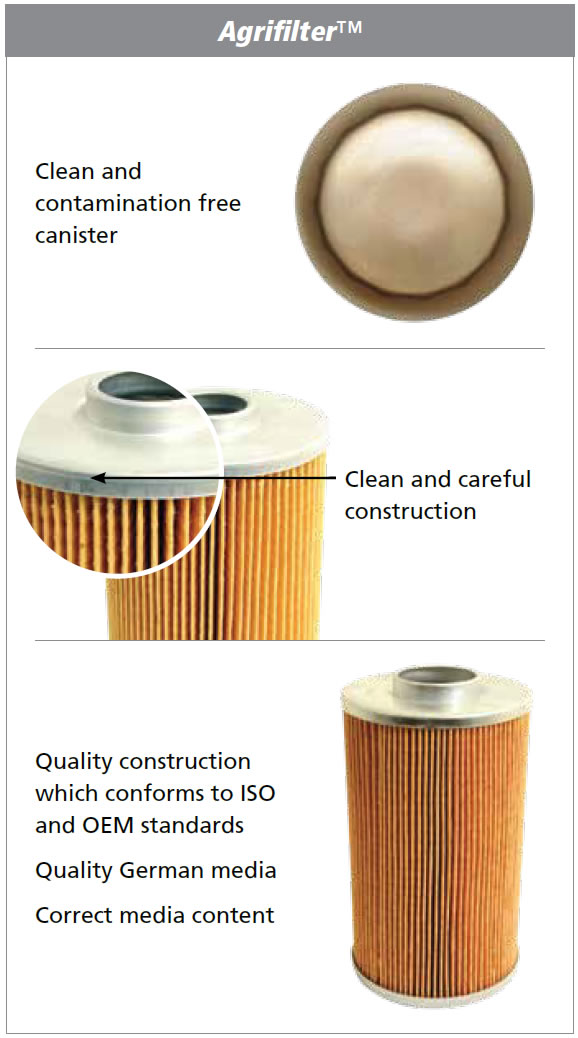 Agrifilter products