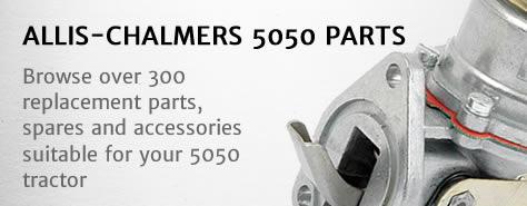 Allis-Chalmers 5050 tractor parts