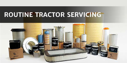 Routine Tractor Servicing