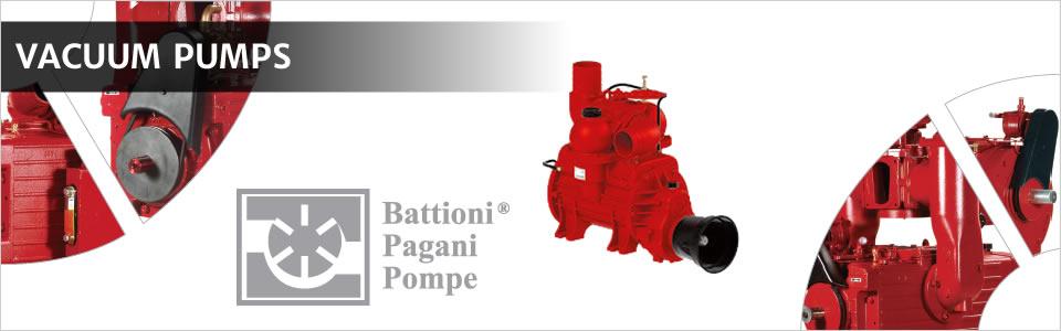 Battioni Pagani Pumps and Spare Parts