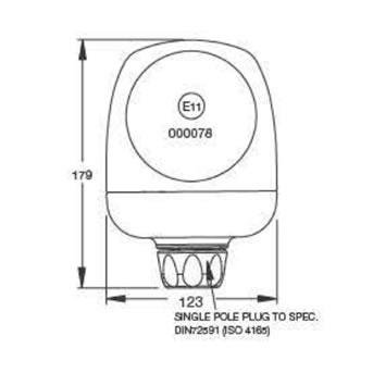 B22 Rotating Beacon diagram (S.13097)
