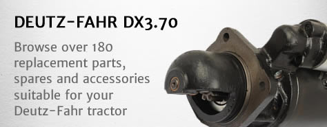 DEUTZ-FAHR DX370 tractor parts