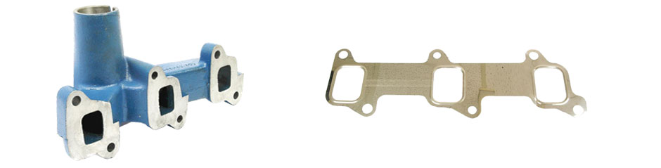 Exhaust Parts - Manifold and gasket