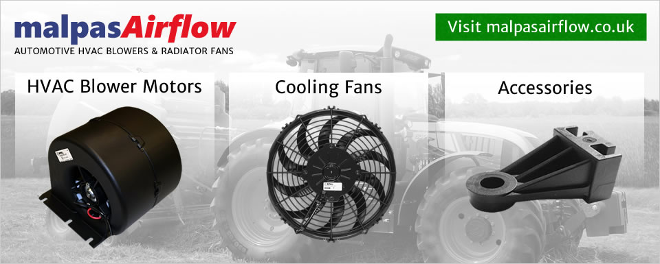 MalpasAirflow.co.uk - genuine SPAL automotive blowers, fans and accessories