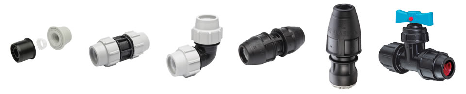 Plasson Mechanical Water Fittings