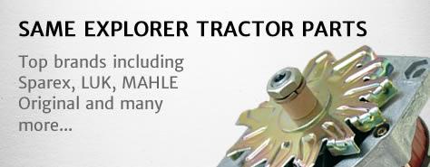 Same Explorer 65 tractor parts