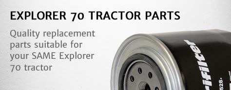 Same Explorer 70 tractor parts