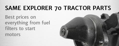 Same Explorer 80 tractor parts
