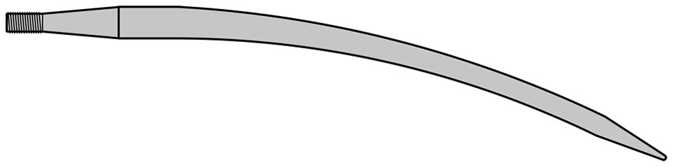 SHW Curved Tine