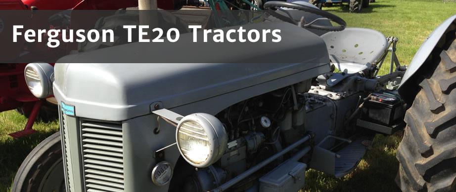 Ferguson Te20 Parts : Ferguson te tractor the history malpasonline