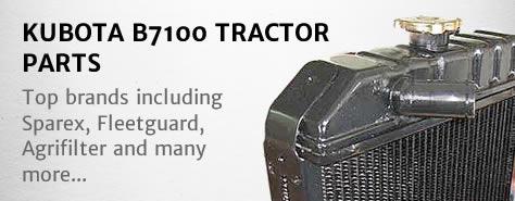 Kubota B7100 Tractor Parts