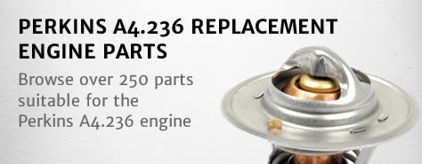 Perkins A4236 (4236 series) Emgine Parts